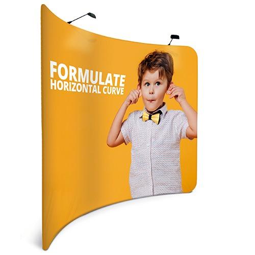 Visuel Stand FORMULATE courbe horizontal