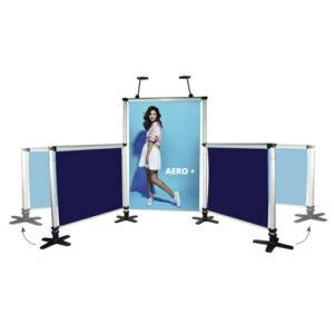 Visuel Stand Rollup modulable Aero